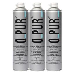 O Pur® Sauerstoff Dose für Maske 3X8 l Spray