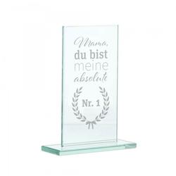 """Glasständer zum Muttertag """"Mama Nr.1"""""""