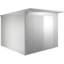 Biohort AvantGarde XL 2,60 x 3,00 m silber-metallic Einzeltür
