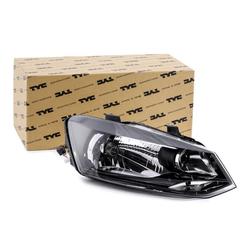 TYC Scheinwerfer 20-12033-05-2 Hauptscheinwerfer,Frontscheinwerfer VW,POLO 6R, 6C