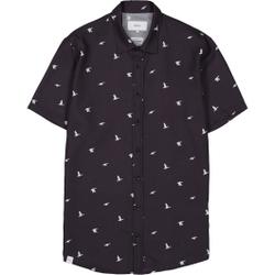 Makia - Ana SS Shirt Dark Blue - Hemden - Größe: L
