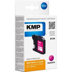 KMP KMP Druckerpatrone ersetzt Brother LC-22UM Magenta Tintenpatrone