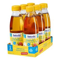Bebivita Apfelsaft mit Mineralwasser 0,5 Liter PET, 6er Pack