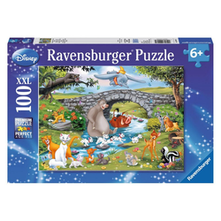 Ravensburger Puzzle Disney Die Familie Der Animal Friends, 100 Puzzleteile