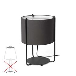 Lampenschirm für Tischleuchte Drum