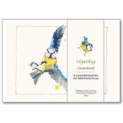 Maxi-Postkarten-Serie Vogelflug