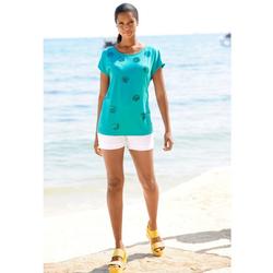 Alba Moda Paillettenshirt mit Pailletten 40