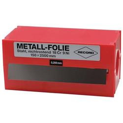 Metallfolie D.0,150mm VA 1.4301 L.2500mm B.150mm