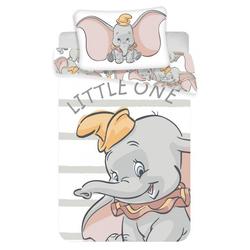 Kinderbettwäsche Dumbo der Elefant Bettwäsche, Disney, 135-140x200 cm, 100% Baumwolle