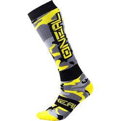 Oneal Pro Hunter Motocross Socken, schwarz-gelb-silber