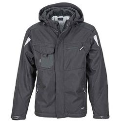 Workwear Winter Softshell Jacke - STRONG - (black/black) XXL