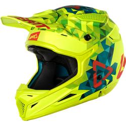 Leatt GPX 4.5 V22 Helmet, blue-yellow, Größe M