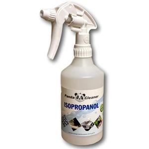 PandaCleaner Isopropanol/Reinigungsalkohol - 500ml + Sprühkopf- Reinigungsflüssigkeit für Haushalt, Handwerk & Industrie (1x500ml Spray)