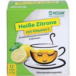 HEISAN heiße Zitrone mit Vitamin C Pulver 120 g