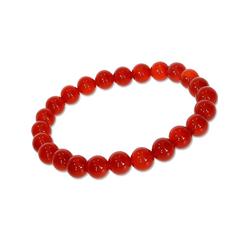 Adelia´s Armband Karneol Armband rot, Karneol rot 19 cm rot