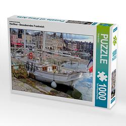 Honfleur - Bezauberndes Frankreich Lege-Größe 64 x 48 cm Foto-Puzzle Bild von Peter Roder Puzzle