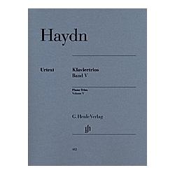 Klaviertrios  Violine  Violoncello u. Klavier. Joseph - Klaviertrios  Band V Haydn  - Buch