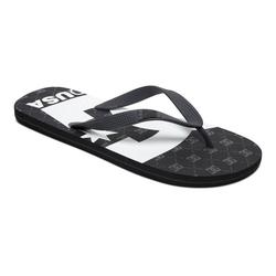 DC Shoes Spray Graffik Sandale schwarz 10(43)