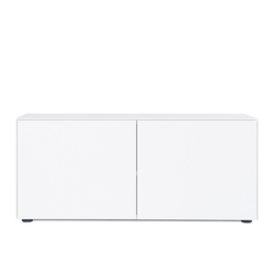 Kommode F10 Go weiß, Designer form1, 52x120x48 cm