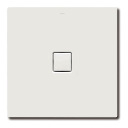 Kaldewei Conoflat Duschwanne 100 × 80 × 3,2 cm… weiß alpin, mit Perl-Effekt
