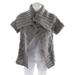 BURBERRY Damen Strickjacke grau, Größe S, 4915816