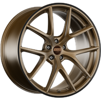 BBS CI-R bronze matt 10.5x20 ET35 - LK5/120 ML82 Alufelge bronze