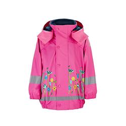 Regenbekleidung Regenjacke mit Innenjacke Regenjacken pink Gr. 86 Mädchen Baby
