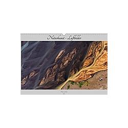 Naturkunst - Luftbilder (Wandkalender 2021 DIN A3 quer)