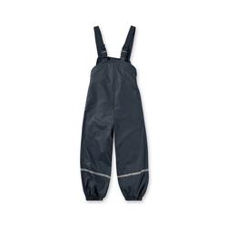 Playshoes Regenhose PLAYSHOES Kinder Regenhose mit Fleecefutter blau