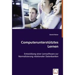 Computerunterstütztes Lernen als Buch von Daniel Reiser