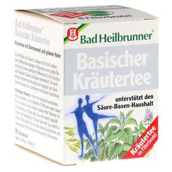 Bad Heilbrunner Naturheilm.&Co. Bad Heilbrunner Tee Basische Kräuter Filterbeutel