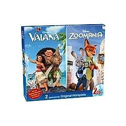 Disney - Vaiana / Zoomania - Hörbuch