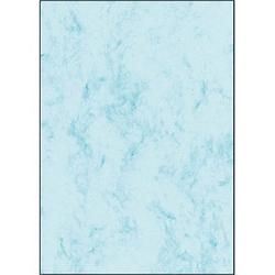 SIGEL Motivpapier Marmor blau DIN A4 90 g/qm 100 St.