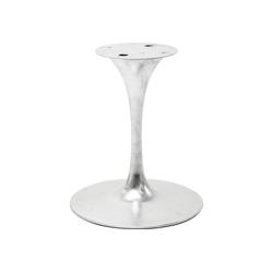KARE Esstisch Tischgestell Invitation Zink 60cm