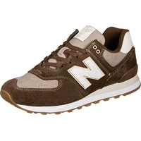 NEW BALANCE ML574 brown-white/ white-gum, 44.5