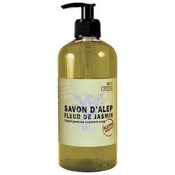 Aleppo Soap Co. Gel Fleur de Jasmin Liquid Jasmine Scented Soap