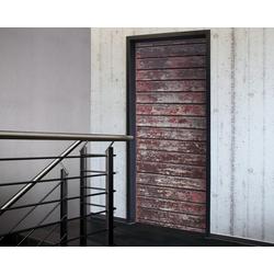 Tür 2.0 XXL Wallpaper für Türen 20006 Alm - selbstklebend- Blickfang für Ihr zu Hause - Tür Aufkleber Tapete Fototapete FotoTür 2.0 XXL Vintage Antik Stil Retro Wallpaper Fototapete