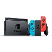 Nintendo Switch neon-rot / neon-blau + 1-2-Switch