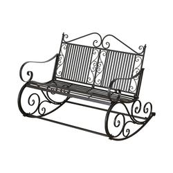 """BOLTZE Gartenbank Metall-Schaukelbank """"Cambo"""", B117 x T91 x H93 cm"""