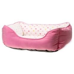 Karlie Hundebett Dot pink, Maße: 55 x 50 cm