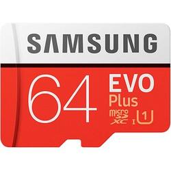 SAMSUNG Speicherkarte microSD EVO PLUS 64 GB