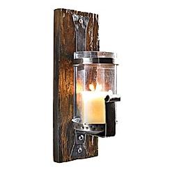 Wand-Kerzenhalter