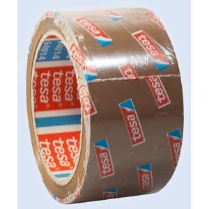 18 Rollen TESA 64014 PP Klebeband / Packband / Paketband / Paketklebeband / Leise abrollend - BRAUN