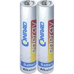 LR8 Mini (AAAA)-Batterie Mini (AAAA) Alkali-Mangan 1.5V 500 mAh 2St.