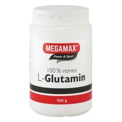 GLUTAMIN 100% rein Megamax Pulver 500 g