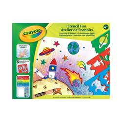 Crayola® Malvorlage Schablonen-Spaß