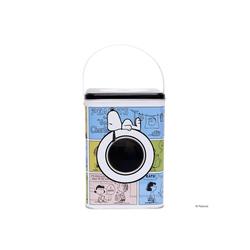 BUTLERS Vorratsdose PEANUTS Waschpulverdose Snoopy & Friends Höhe 20cm, Weißblech