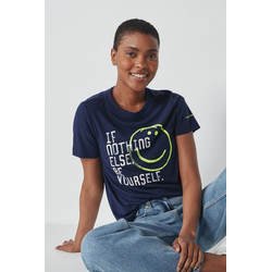 Next T-Shirt Parkinson's UK Charity T-Shirt blau 34