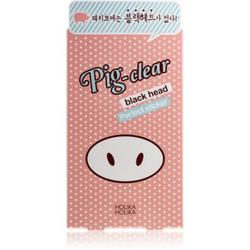 Holika Holika Pig Nose Clear Blackhead reinigendes Pflaster gegen Mitesser 10 St.