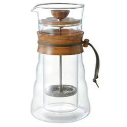 HARIO French Press Olivenholz